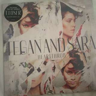 Tegan and Sarah heartthrob vinyl (includes bonus cd)