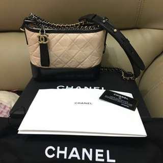 (情人節之選💕)全新Chanel Gabrielle hobo small bag