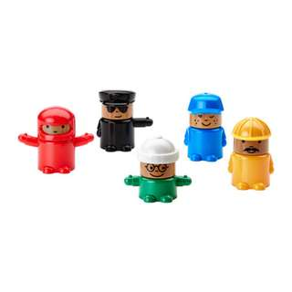 [IKEA] LILLABO Toy Figure 5pieces