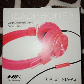 HEADPHONES CLEAR DETAILED SOUND COLLAPSIBLE