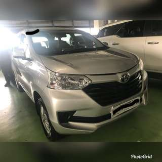Toyota Avanza 2018 for Rent with Driver