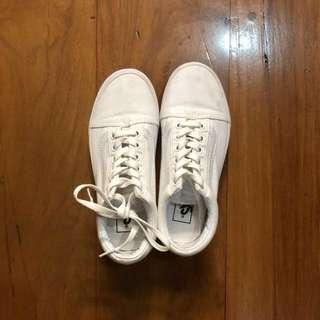Vans Old Skool White Sneakers