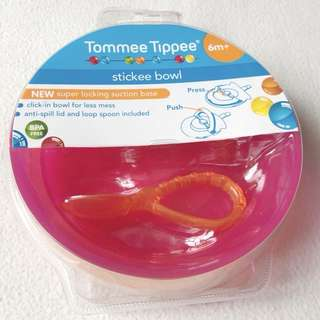 Brand new Tommee Tippee stickee bowl from Australia for PHP 400.00 only. 🌸