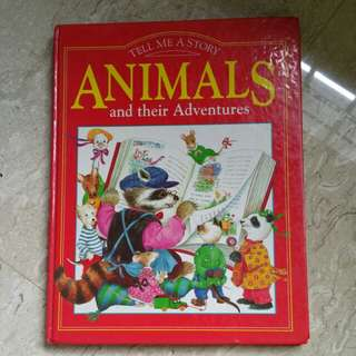 Animal and their Adventures Story Book
