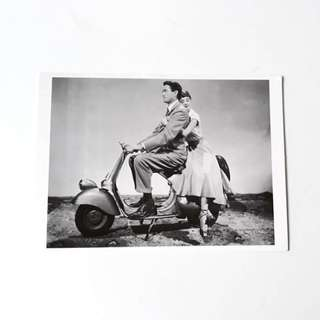 Audrey Hepburn movie star celebrity postcard 2