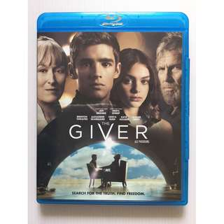 The Giver Blu Ray