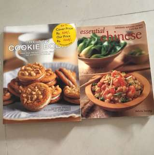 Cooking Book and cookie book