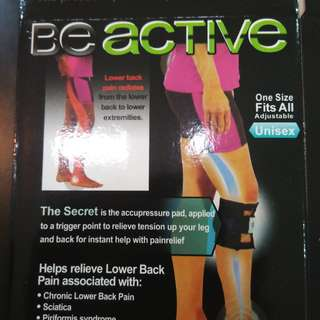 BeActive Pressure Knee Wrap for Back Pain Relief