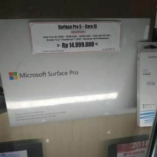 Microsoft surface pro 5 free 1x angsuran cicilan tanpa kartu kredit
