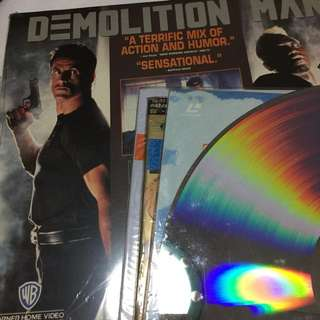 Laser Disc assorted 10pcs