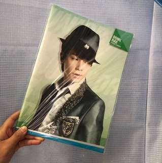 Super Junior Super Show 4 Notebook - Donghae 東海