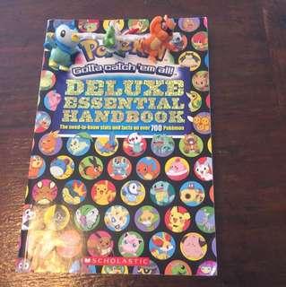 Pokémon deluxe book add three figures
