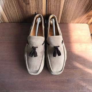 Cartagena Mocassins Drivers Driving Loafers Leather Shoes
