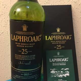 Laphroaig 25 Year 2013 Cask Strength Edition Whisky