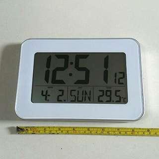 Digital Date Alarm Temperature Clock