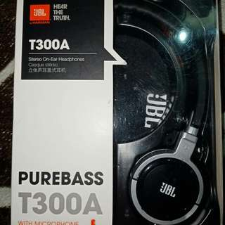 JBL T330A Stereo On Ear Headphones