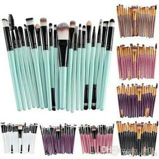 20pcs professional make up brushes