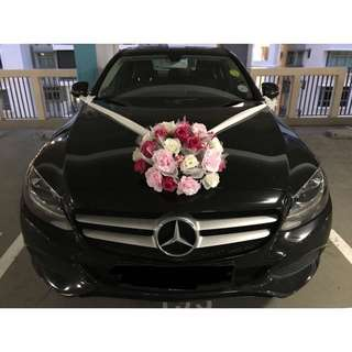Wedding Bridal Car Decor