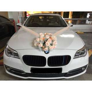 Wedding Bridal Car Deco