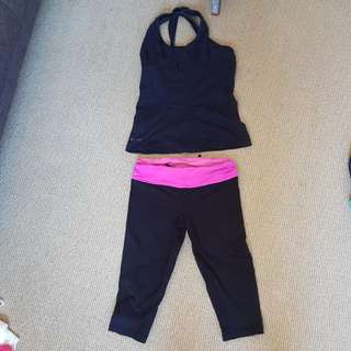 Blockout sport gym set medium black and pinky