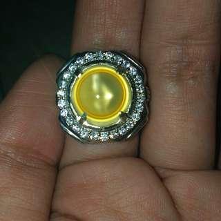 Fenomena Ring Chalcedony + Silver