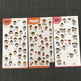 FREE Korean stickers