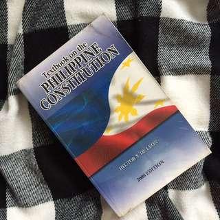 DE LEON Textbook on the Philippine Constitution
