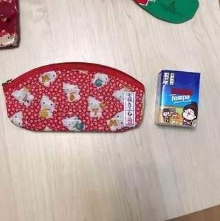 Hello Kitty pencil bag 2001