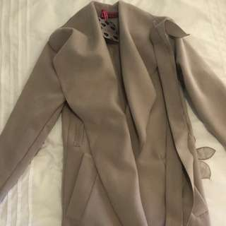Boohoo Long Coat one size