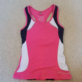 blockout gym sports tank small