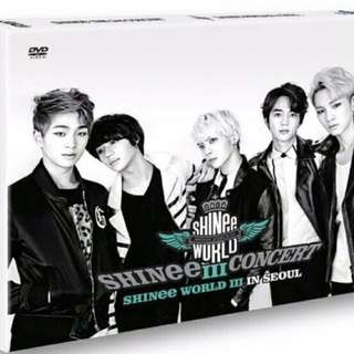"SHINee The 3rd Concert ""SHINee World III in Seoul"" (2DVD + Photobook)"