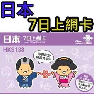 🚚 日本Softbank網卡
