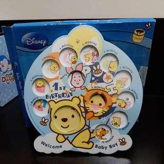 Winnie the pooh bb相架連盒