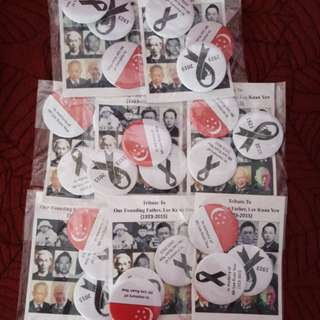 Lee Kuan Yew badge