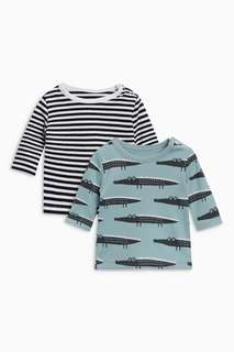 Blue Crocodile T-Shirts Two Pack