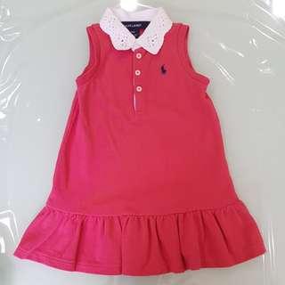 [New] Ralph Lauren baby girl Dress