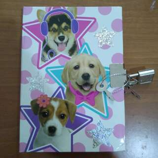 Doggy notebook