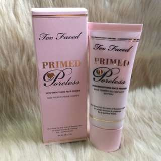 SALE! Too Faced Primed and Poreless Face Primer