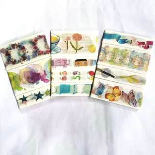 washi samples bundle set