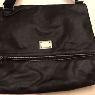 Dolce & Gabbana Leather shoulder bag  Top grain W:51cm H:40cm