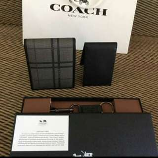 AUTHENTIC COACH  SHORT WALLET