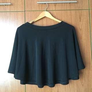 Black Skater Skirt (S-M)