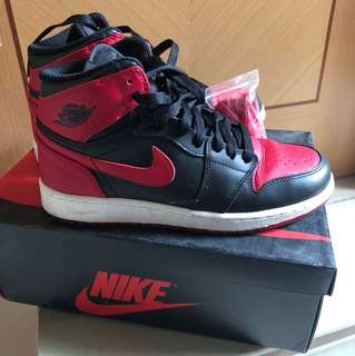 Nike air jordan1 red aj1