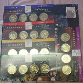 Greenwich Merdian 2000 Millennium Medal Collection