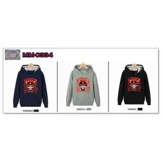 CODE: MM-0334 Printed Hoodie Jacket