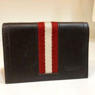 Bally original brand name card holder