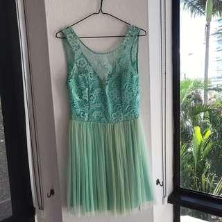 Cute Midi Lace Dress