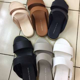 NEW!!!! Charles and keith sandal import wanita