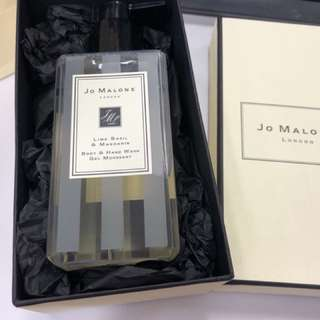 Jo Malone Lime & Basil shower gel and hand wash