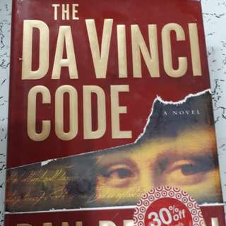 The Da Vinci  Code Hardbound book